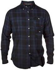 "D555 Mens Kingsize Long Sleeved Brushed Cotton Check Shirt ""King"" 2XL 3XL"