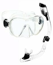 Cressi Junior Frameless Mask Dry Snorkel Set,- Choose SZ/Color.