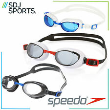 SPEEDO AQUAPURE ADULT SWIMMING GOGGLES WITH ANTI-FOG LENSES AND UV PROTECTION