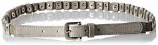 Steve Madden Womens Belts SM35465 Stretch Pant Belt W/ Stud- Choose SZ/Color.