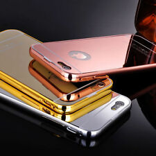 Luxury Aluminum Ultra-thin Mirror Metal Case Cover for iPhone 6/6s/6/6+Plus