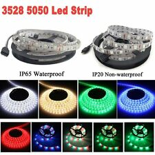 3528 5050 SMD Strip 300LED Colorful LED Lamp Light Tape Xmas Home Car Decor