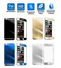 Premium Color Mirror Tempered Glass Screen Protector For iPhone 5S 6S 7 Plus Lot