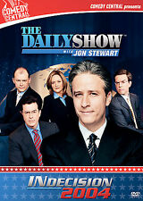 The Daily Show with Jon Stewart - INdecision 2004 (DVD, 2005, 3-Disc Set)NEW