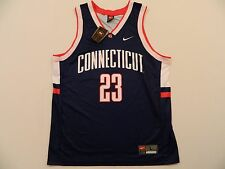 M11 Rare New NIKE Team Connecticut UConn Huskies 23 Basketball Jersey MEN'S L/XL