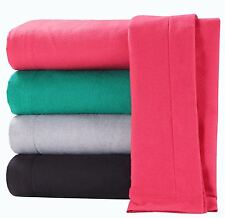 HDN Brushed Cotton Flannelette Flat Sheet Bed Sheets All Variations