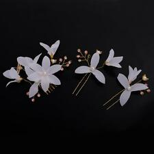 Wedding Bridal Beautiful Flower Hair Comb Hairpins Hair Accessories