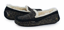#16-UGG ANSLEY GLITTER Women shoes moccasin Size 6/37