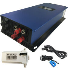 2000W Grid Tie Inverter with Dump Load Resistor for 3phase AC wind turbine 45-90