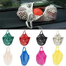 8 Color Turtle Bag COTTON STRING/NET SHOPPING Tote Reusable Mesh Storage Handbag