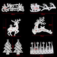 Large Hanging Ceiling Christmas Decorations For Shop Wall Xmas Tree Window Decor