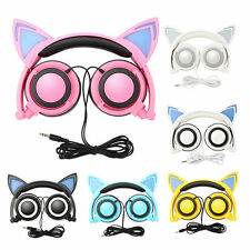 Ear Cat Headphones Japan Cosplay Nekomimi Led Kawaii Axent Style Glowing 7types