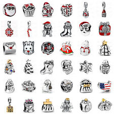 Christmas gift 925 European Sterling New Silver Charms Bead for Bracelet Chain