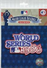 New York Mets vs Boston Red Sox 1986 World Series Collectible Licensed Patch