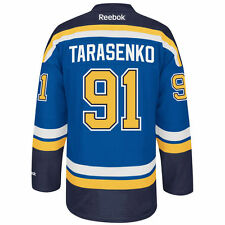 Vladimir TARASENKO St. Louis BLUES Reebok Premier Officially Licensed NHL Jersey