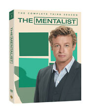 The Mentalist: The Complete Third Season (DVD, 2011, 5-Disc Set)