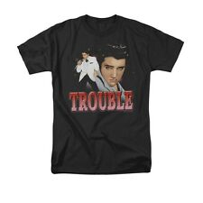 Elvis Presley - Trouble Adult T-Shirt