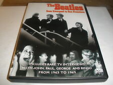 THE BEATLES from Liverpool to San Francisco DVD/Rare Interviews, 1963 to 1969