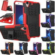 Rugged Hybrid Shockproof Armor Hard KickStand Case Cover For Huawei Ascend Y6 II