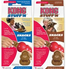 KONG STUFF'N SNACKS LARGE All-Natural 11oz Put n Kong or Not for M-L Dogs Canine