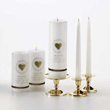 Blended Family Wedding Unity Ceremony Personalized Candle or Set Q66346