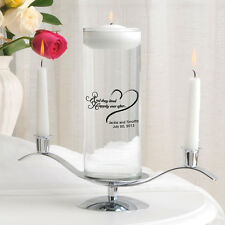 Floating Wedding Unity Candle Ceremony Personalized Pillar Candle or Set Q66363