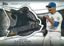 2016 Topps No Hitter Pins #NHPJS Johan Santana - NM-MT - New York Mets