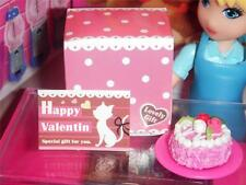 Rement Valentines Day Cake Box Card fits Fisher Price Loving Family Dollhouse