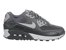 NEW WOMENS NIKE AIR MAX 90 RUNNING SHOES TRAINERS DARK GREY / WOLF GREY / ANTHRA