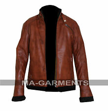 Aviator B3 Thick Fur Lining Collar Warm Winter Real Leather Bomber Flying Jacket