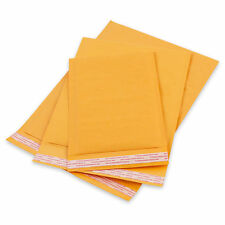 "40 #000 KRAFT BUBBLE MAILERS PADDED ENVELOPES 4""x8"""