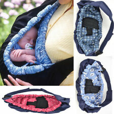 New born Infant Baby Toddler Cradle Pouch Ring Sling Carrier Kid Wrap Bag