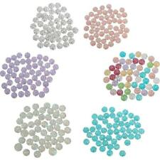 50x 20mm Resin Round Flatback Beads for DIY Scrapbooking Craft Embellishment