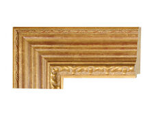 Picture Frame Antique Gold with red undertones   4''  Custom sizes available