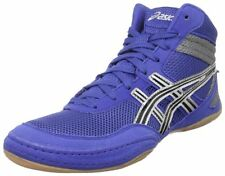 ASICS J100N.5990-Royal/Blk/Silver- Mens Matflex 3 Wrestling- Choose SZ/Color.