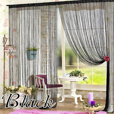 HOT Window Curtain Panel Room Divider Curtain String Line Colorful Tassel Decor