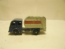 MATCHBOX BY LESNEY #15-C 1963 BLUE & GRAY REFUSE TRUCK