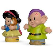 Fisher Price Little People Disney Princess Snow White & Dopey Doll Brand New Box