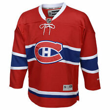 Reebok Montreal Canadiens Youth Red Premier Home Jersey