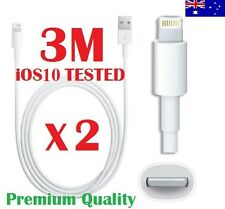3M USB Data Lightning Cable Charger for iPhone 5 6 6S 6Plus 7 iPad 4 Air Mini