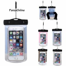 Waterproof Case Dry Bag Cell Phone Pouch With Lanyard Strap For Swim/Surf/Jog