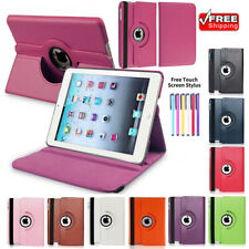 Xmas 360 Rotating Folio Stand Smart Leather Case Cover For Apple iPad 2 3 4