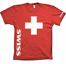 Fan T-Shirt, SWISS CROSS, SWISS CROSS, Size S-XXL+