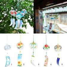 Glass Wind Chime Windchime Bell Hanging Ornament Window Garden Decoration PICK