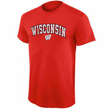 Wisconsin Badgers Youth Red Arched University T-Shirt