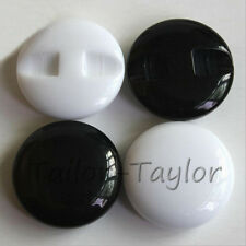 20 Pcs Resin Buttons Sewing Scrapbook Card Making Craft Dome Decorations 12-38mm