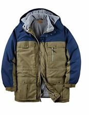 NWT MEN`S PLUS SIZE PARKA JACKET WITH HOOD COAT BIG AND TALL  XL-6XL MSRP $120