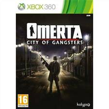 Omerta: City of Gangsters Microsoft Xbox 360 NEW FACTORY SEALING