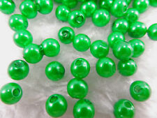 Wholesale 100PCS Imitation Pearl Round Spacer Loose Beads  Spacer Beads 6mm