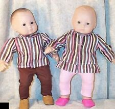 """Doll Clothes fit American Girl Boy 15"""" inch fit Bitty Baby Twin Pant Legging 4pc"""